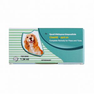 Clearkill- an animal care product to prevent fleas and ticks