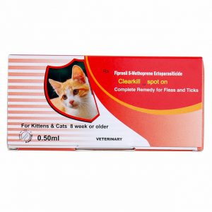 Clearkill Spot on for Cats kills chewing lice