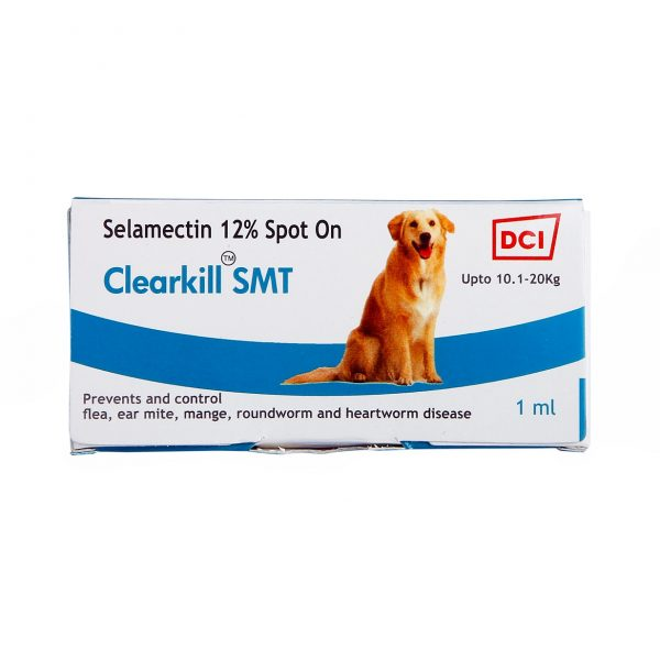 Clearkill SMT by Disinfecto to control heartworm disease