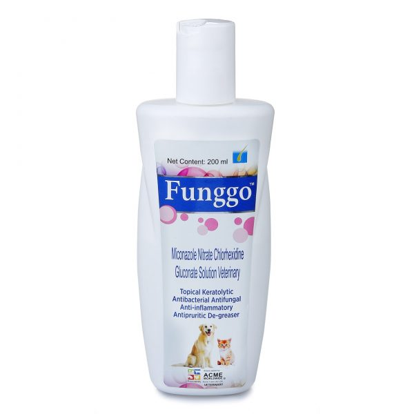 Funngo, Antibacterial, Anti-Inflammatory and Anti Fungal Spray For Dogs