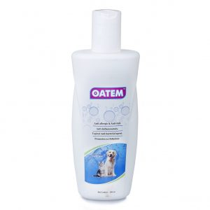 Oatem Anti Tick Shampoo for Dogs and Cats