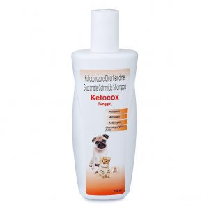 Ketocox Anti Tick Dog Shampoo