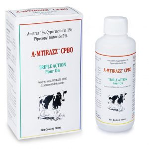 A-Mitrazz veterinary product For cows to prevent ticks and fleas