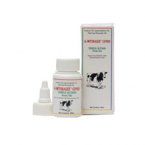 A-Mitirazz for treatment and prevention of flea and tick infestation