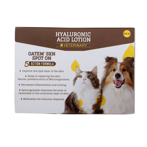 Oatem Spot On, Skin lotion for dogs and cats.