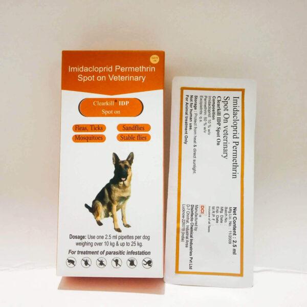 Clearkill IDP Spot On, Dog Tick Medicine