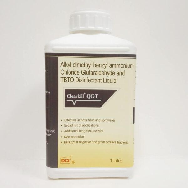 Non Corrosive Disinfectant Liquid clearkill QGT