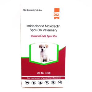 flea and tick treatment for dogs Clearkill IMX Spot On 0.4 ml,