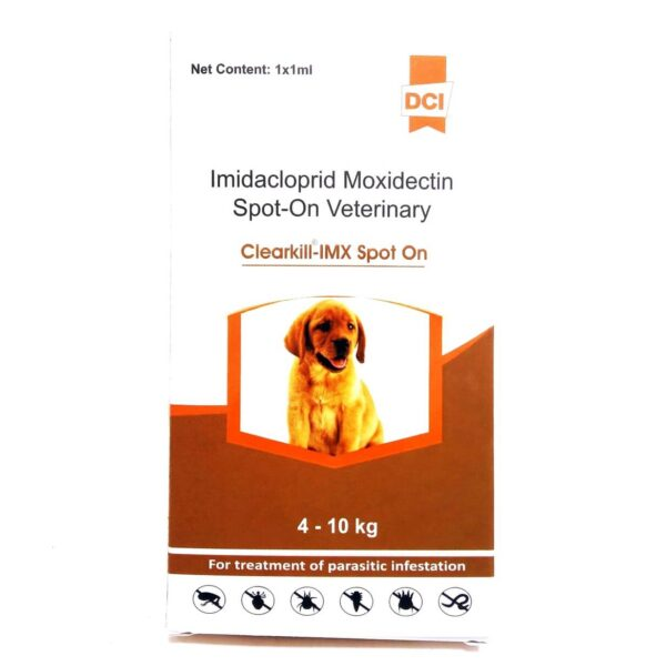 Flea and Tick Remover for Dogs Clearkill IMX Spot On 1 ml