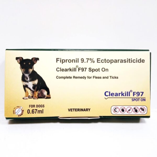 flea and tick medicine for dog Clearkill F97 Spot On, 0.67 ml
