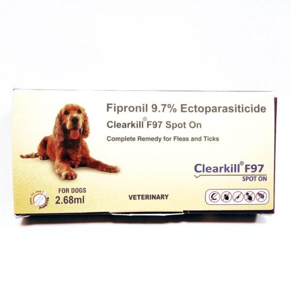 dog spot on tick treatment Clearkill F97 Spot On 2.68 ml