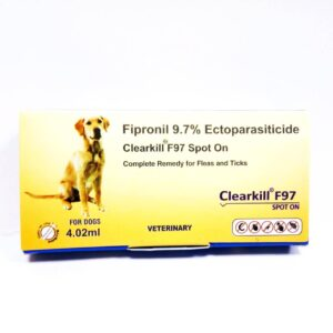 Best Tick prevention for dogs, Clearkill F97 Spot On for Dogs 4.02 ml